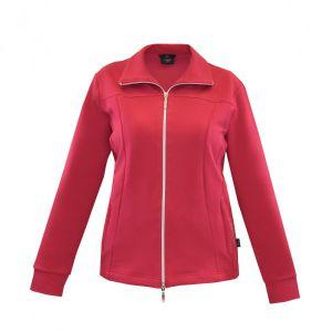 Authentic Klein Damen sportive Jerseyjacke aus hochwertigem Baumwollmischgewebe