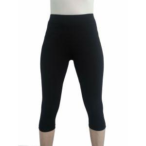 Authentic Klein, Hautsympathische Damen 3/4 Basic-Leggings für Sport- und Freizeit aus Baumwolle in Übergrößen; Große Grßen; Kurze Größen; Lange Größen