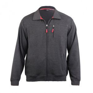 Sportive Herren Jerseyjacke aus hochwertigem Baumwollmischgewebe in Übergrößen, Kurze Größen und Lange Größen
